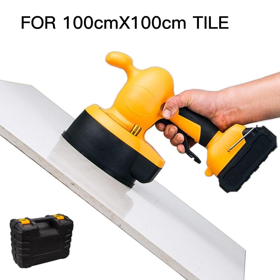 Portable Floor Vibrator Tile Tool 21v Leveler Of Floors And Tiles Laying Ferramenta For Azulejista Tile Leveling Tools Carrelage
