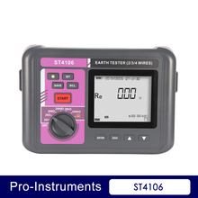Nicety ST4106  digital Ground earth resistance tester 4 pole soil electric resistivity meter