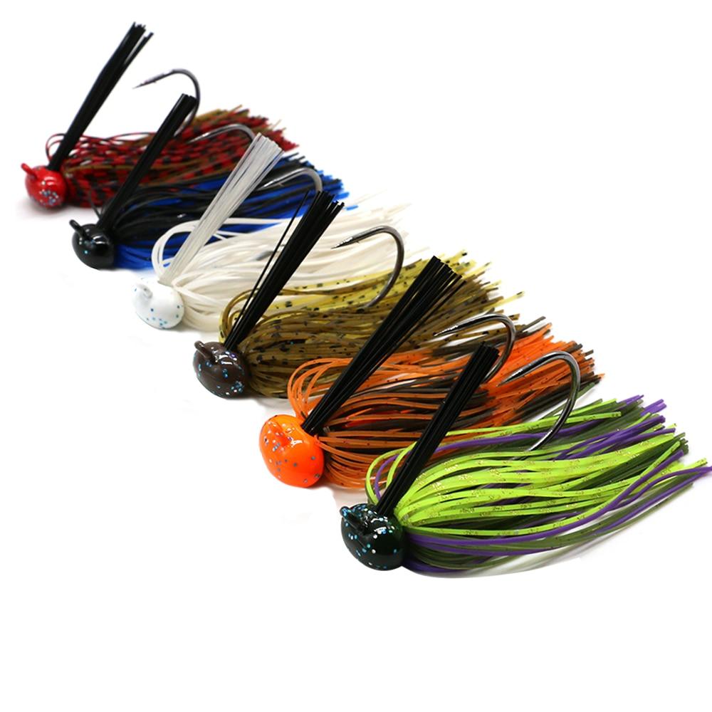 JonStar 1pc 7G/12G/15G/16G Finesse Chatter bait spinnerbait fishing lure wobbler chatterbait for bass pike walleye fishing-5