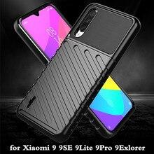 for Xiaomi 9 Lite Case Mi 9 Pro Cover TPU for Mi9 SE Back Coque 9Lite 9SE 9Pro Shockproof MOFi Anti Knock Full Edge Xiomi