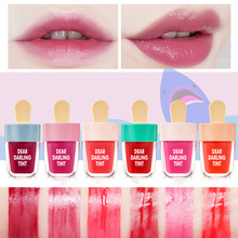 NOVO Cute Ice Cream Lip Tint Tattoo Makeup Korean Style Red Lip Gloss Matte Liqu