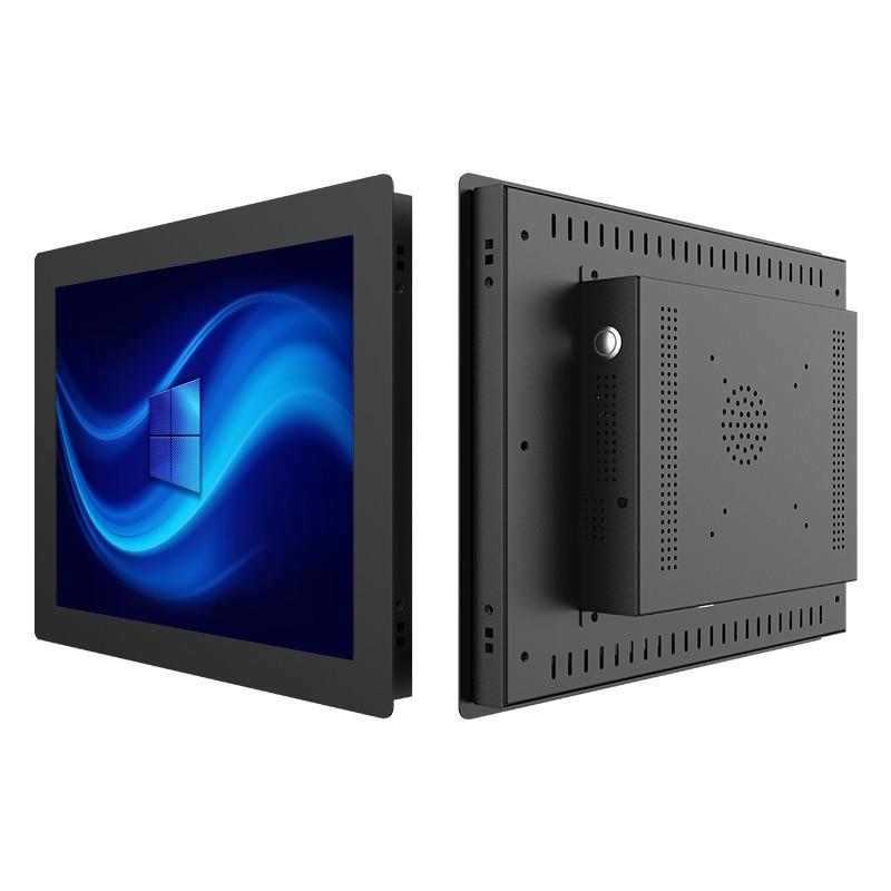 21.5 אינץ מוטבע מחשבים שולחניים Intel i3 i5 i7 לוח תעשייתי לוח pc עם מגע Resistive מסך עבור Windows XP/7