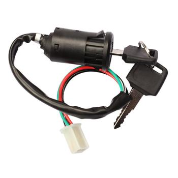 Motorcycle Ignition Switch Key with Wire for HONDA CR80R 85R CRF150R CR125R 250R CRF250R CRF250X CRF450X image