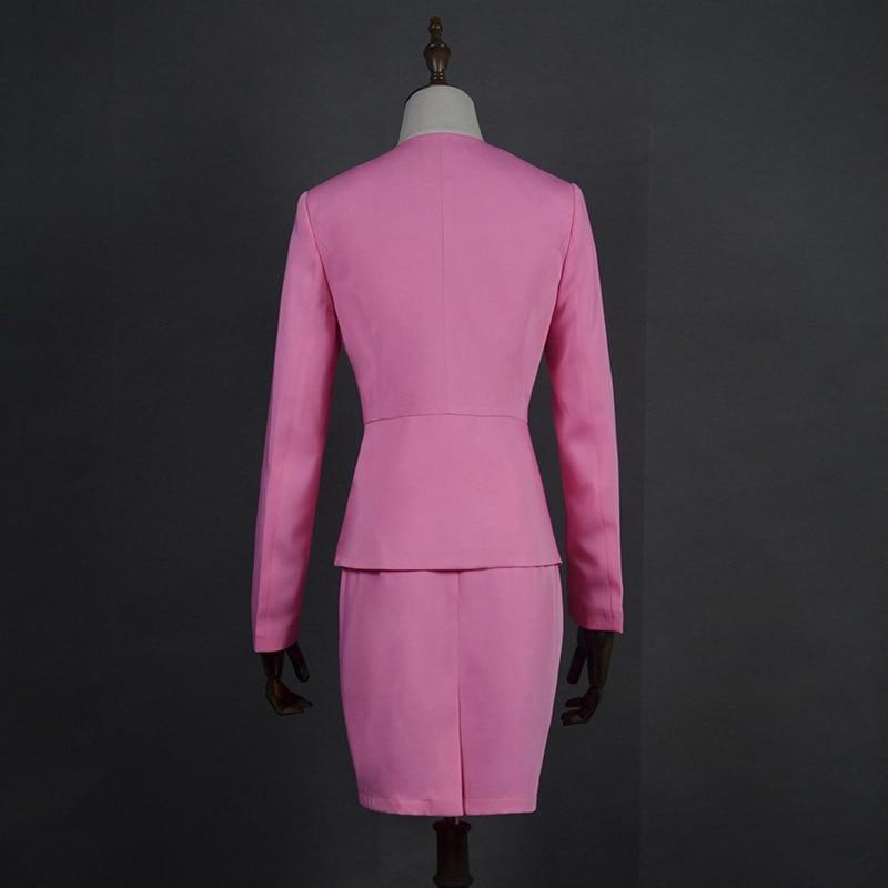 HOT Wine Black Apricot female elegant woman's office blazer dress jacket suit ladies office wear sets costumes business dresses