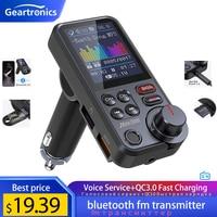 Trasmettitore FM Bluetooth per auto Wireless da 1.8