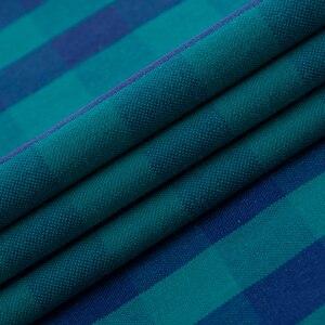 Image 5 - Erkek rahat ekose damalı Oxford pamuk gömlekler tek yama cep uzun kollu standart fit düğme yaka şemsiye gömlek