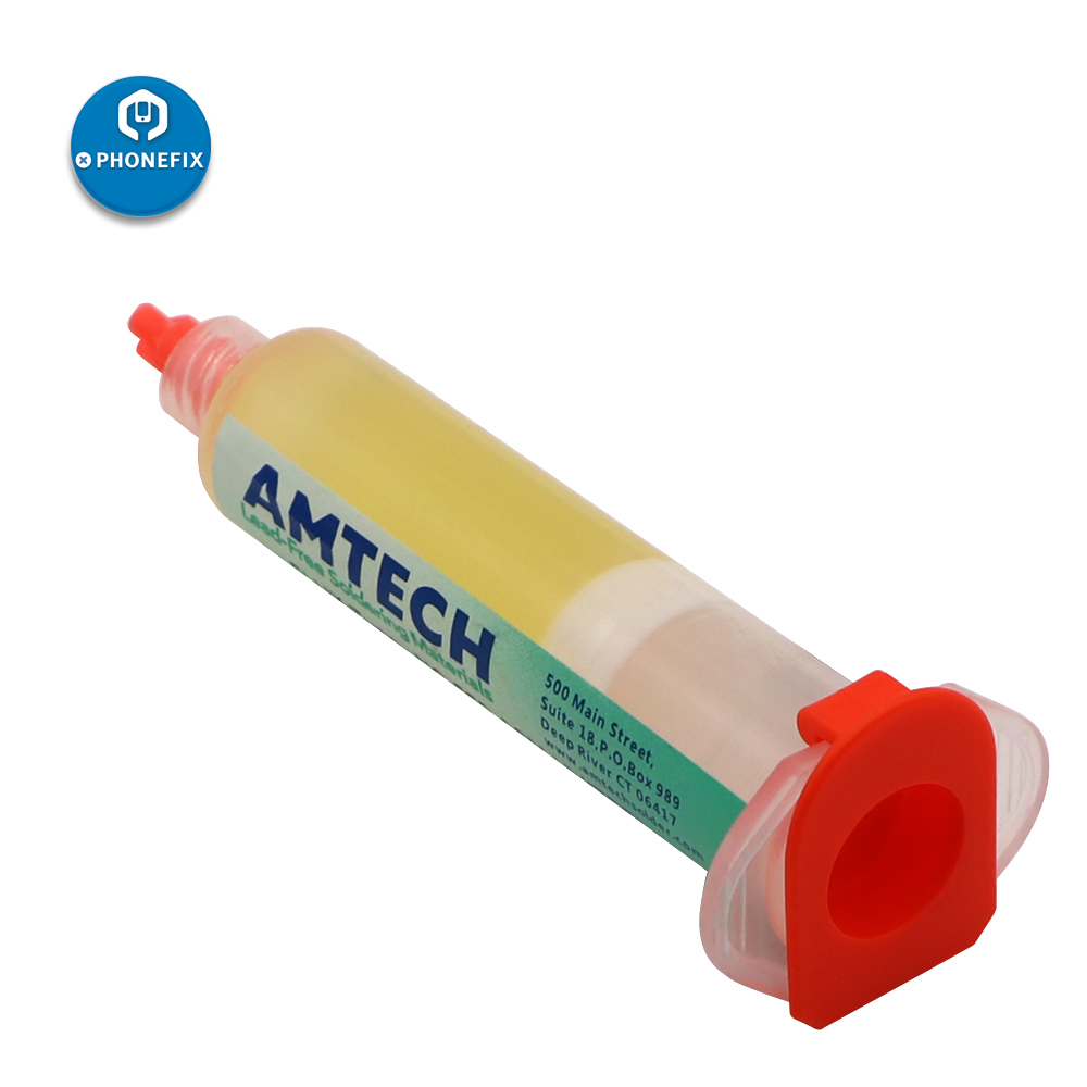 AMTECH NC-559 Solder Paste Flux With Syringe Dispensing Kit For PCB SMD Mobile Phone Repair Soldering Paste Welding Fluxes