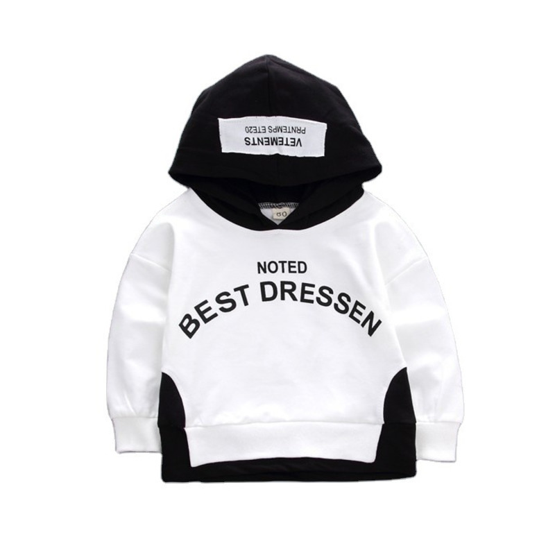 New Spring Autumn Baby Fashion Clothes Children Boys Girls Cotton Hooded Sweatshirt Kids Casual Clothing Infant Cartoon Hoodies