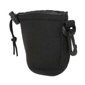 Case Bag Lens-Protector Pouch Soft-Camera Waterproof Neoprene Shockproof-Size Black 1pcs