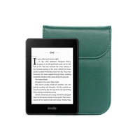 4 2 Hand-craft PU Leather pouch bag case cover for Kinlde Paperwhite 1 2 3 4 Voyage 10th E-book 6 inch Universal (1)
