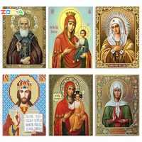 Volle 5D Daimond Malerei Mary & Wenig Jesus 3D Diamant Malerei Runde Strass Diamant Malerei Stickerei Religion Symbol 1Zj06