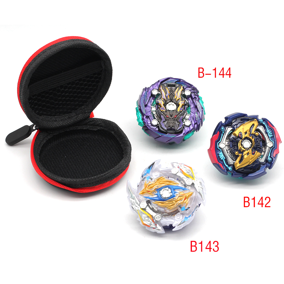 Exquisite Gyro Bag <font><b>Beyblade</b></font> <font><b>Burst</b></font> B44,<font><b>B143</b></font>,B142..... New Toys Bag With Launcher Metal Top Blades Children Toy image