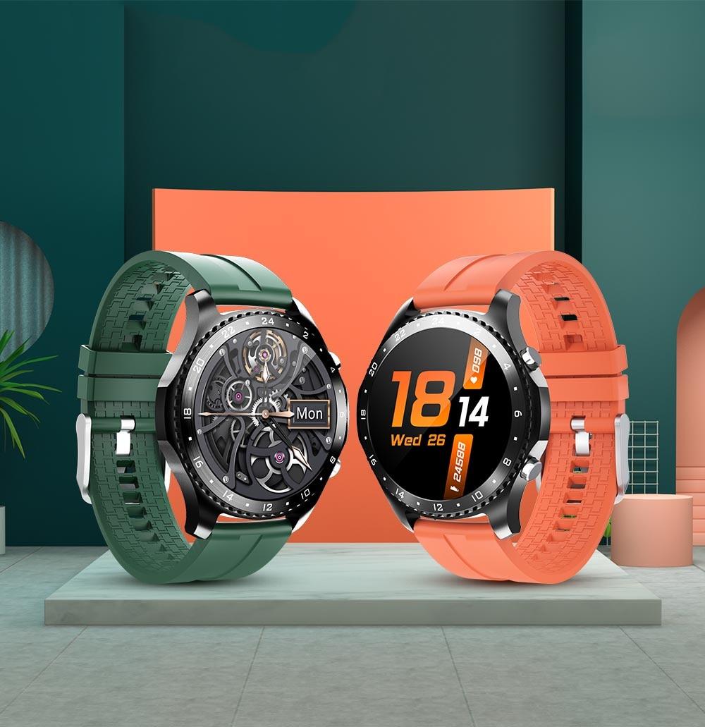 corpo bluetooth telefone chamada smartwatch masculino freqüência