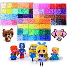 Новинка 72 цвета 39000 шт набор игрушек perler 5 мм 26 бусины