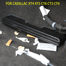 מכונית לשקע אוויר כיסוי עבור קדילאק XT4 XT5 XT6 CT4 CT5 CT6 אחורי תחת מושב צינור מזגן Vent מכסה אבזרים