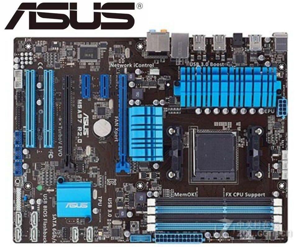 ASUS M5A97 R2.0 Original Motherboard  Socket AM3+ DDR3 USB2.0 USB3.0 32GB 970 Used Desktop Motherboard