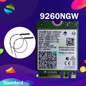 Image 3 - Wifi Card For Intel Dual Band AC 9260 9260NGW 9260AC 1.73Gbps  NGFF Key A E Wifi Card  802.11ac Bluetooth 5.0 for Windows 10
