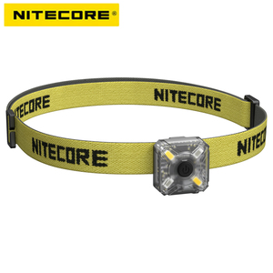 2019 NEW NITECORE NU05 KIT 35 Lumens White/Red Light High Performance 4x LEDs Lightweight USB Rechargeable Outdoor Headlamp Mate(China)