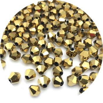 4 6 8mm błyszczące kryształowe koraliki koraliki w kształcie bicone paciorki szklane koraliki dystansowe luzem koraliki do biżuterii MakingDIY bransoletka naszyjnik #003 tanie i dobre opinie You*Hao Yan Other Owalny kształt About1-2mm Opp bag U Pick