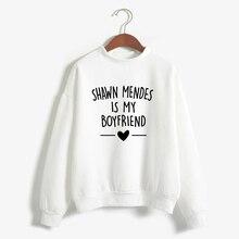 Autumn Winter Sweatshirt Shawn Mendes Is My Boyfriends Lette