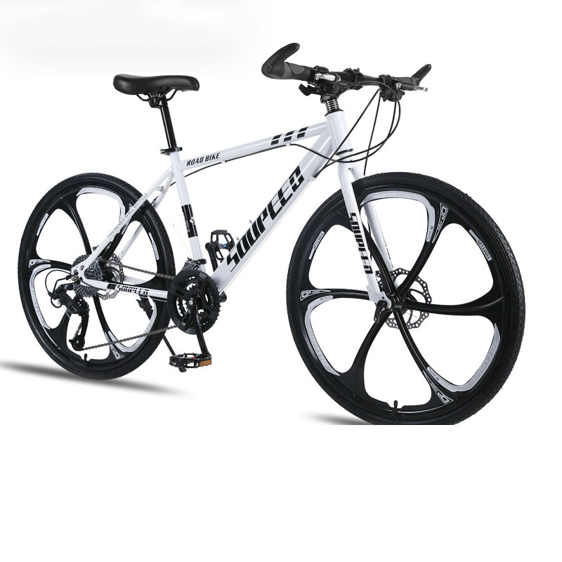 Mountain Bike Bicycle Adult Men And Women Speed Double Disc Brakes Shock Ultra Light Student Off Road Five Knife One Wheel