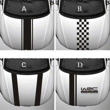 WRC – autocollant de voiture de course en vinyle, à rayures personnalisées, pour Ford focus Cruze Renault, accessoires
