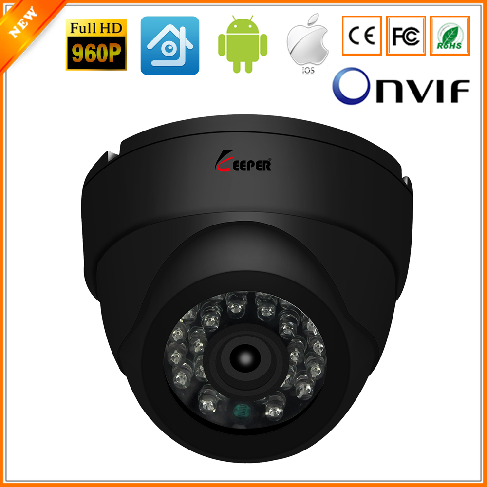 Keeper HD AHD Camera 1.3MP High Definition Surveillance Infrared 960P CCTV Security Outdoor Dome Waterproof Camera