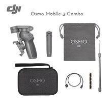 DJI Osmo Mobile 3 Combo 3-осевой Ручной Стабилизатор для смартфонов с интеллектуальными функциями обеспечивает стабильность