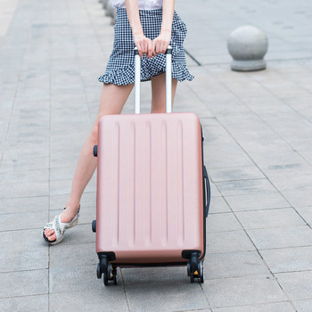 kundui 20 24 28 inch abs pc trolley suitcase rolling spinner wheels pull rod luggage women girl traveller case boarding bag ABS PC luggage set travel suitcase on wheels Trolley luggage carry on cabin suitcase Women bag Rolling luggage spinner wheel