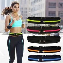 Cintura Execução Saco do Telefone Móvel Celular À Prova D' Água Do Lado de Fora Do Esporte da Aptidão Cinto de Jogging Transporte Pacote de Cintura Multicolor