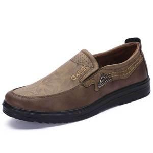 Image 3 - Nieuwe Handelsmerk Grootte 38 47 Upscale Mannen Casual Schoenen Mode Lederen Schoenen Voor Mannen Zomer Heren Platte Schoenen Dropshipping