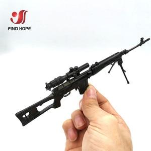 Image 3 - 8 قطعة/المجموعة 1/6 SVD TAC 50 Mk46 MK14 PSG 1 FIM 43 DSR قناص بندقية سلاح تجميع مسدس لعبة نموذج ل عمل الشكل