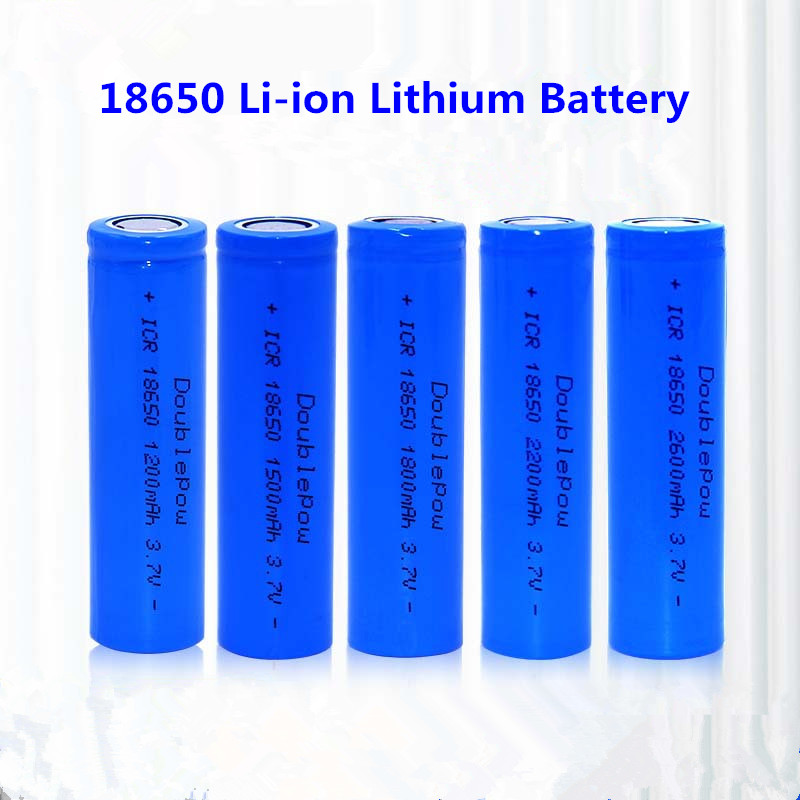1pcs 3.7V Rechargeable Battery 18650 Li-ion Lithium Battery