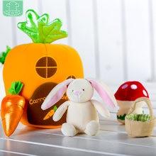 Пасхальный кролик детская игрушка домик для моркови игровой