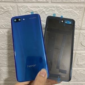 Image 3 - עבור Huawei Honor 10 זכוכית אחורי שיכון עבור Huawei Honor 10 סוללה חזרה כיסוי אחורי זכוכית החלפת מקרה תיקון חלקים