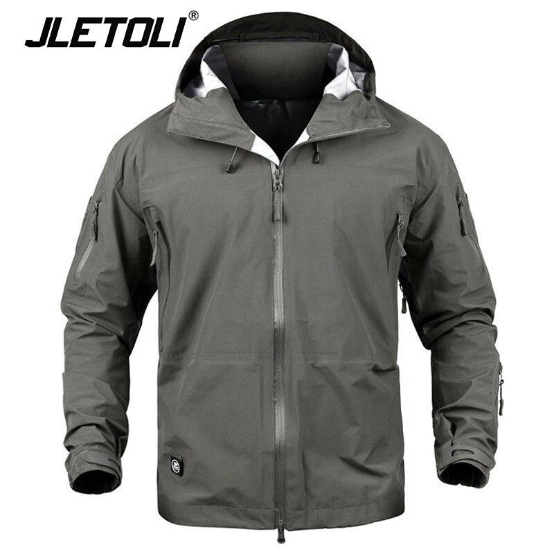 JLETOLI עמיד למים מעיל מעיל רוח חורף חיצוני טיולים Jacket נשים מעיל Windproof קליפה קשה מעיל טקטיקות בגדים
