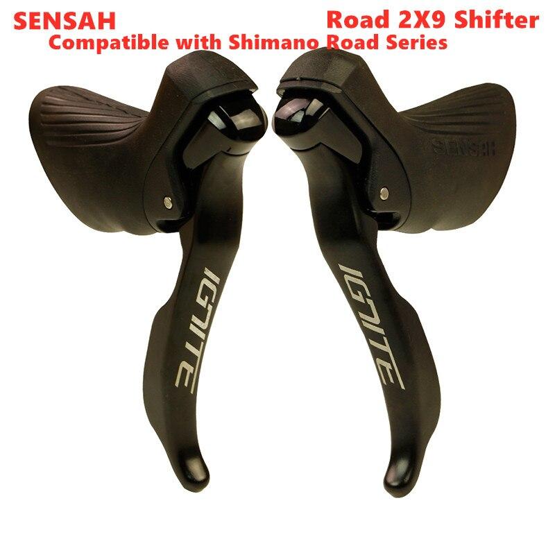 SENSAH IGNITE дорожный велосипед переключатель 2x8 2x9 скоростной тормозной рычаг велосипед R7000 Tiagra Sora sensah empire pro sensah groupset 4700 5800