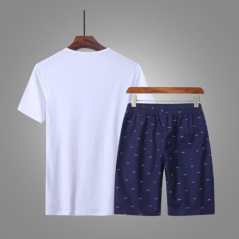 Summer Wear MEN'S Shorts Casual Sports Capri Pants Set Summer Beach Shorts Korean-style Trend Shorts