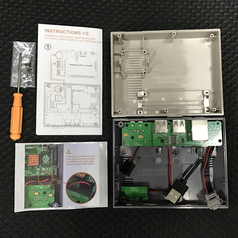 NES case for Raspberry Pi 3 (7)