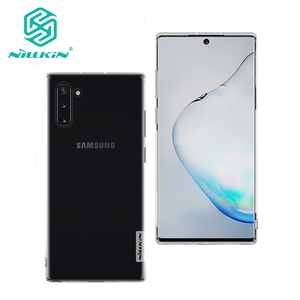 For Samsung Galaxy Note 10+ Pro TPU Case NILLKIN Nature Transparent Silicone Soft cover for Samsung Note 10 note 10 Plus 5G Case