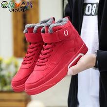 Men Shoes Fashion Warm Velvet Winter Men