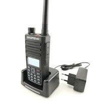 """vhf uhf 2pcs Baofeng DM-1801 Ham Radio מכשיר הקשר 50 ק""""מ VHF UHF כפול זמן חריץ DMR רדיו דיגיטלי אנלוגי DM 1801 טאקי Walki מקמ""""ש (5)"""