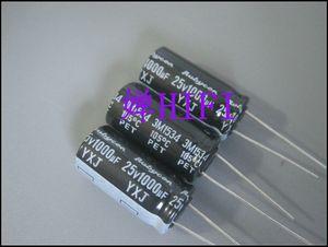 Image 2 - 20 Chiếc Rubycon Yxj 25V1000UF 10X20 Mm Nhôm Điện Phân Tụ Điện Yxj Series 1000UF 25V Bán 1000 UF/25 V