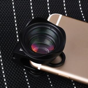 Image 2 - Orsda evrensel 4K HD 2.5X telefoto Lens kiti 65mm hiçbir bozulma telefon kamera Lentes iPhone Android akıllı telefonlar için