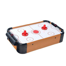 Mini Mesa Top Air Hockey juego Pucks familia navidad regalo Arcade juguete Playset(China)