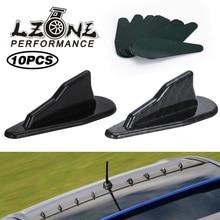 Spoiler-Wing-Kit Universal Shark-Fins Roof ABS JR-SFB08 10pc Vortex-Generator Evo-Style