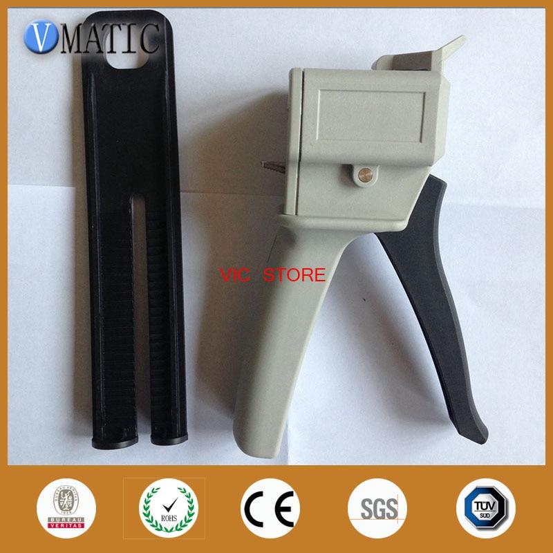 Free Shipping 1:1 2:1 Ratio Dental Impression Mixing Dispenser Dispensing Caulking Glue Gun 50 Ml/cc