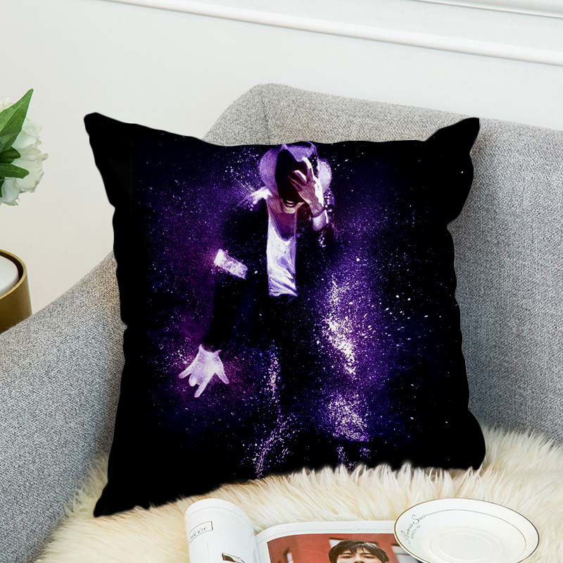 Michael Jackson Pillow Case Polyester Decorative Pillowcases Throw Pillow Cover style 3