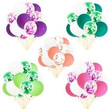 15pcs Retro Color Balloons Macaron Latex Air Helium Confetti For Birthday Wedding Party Supplies