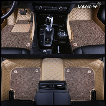 kokololee Custom car floor mats for Skoda octavia fabia rapid superb kodiaq yeti KAROQ KAMIQ car foot ma styling car accessories image